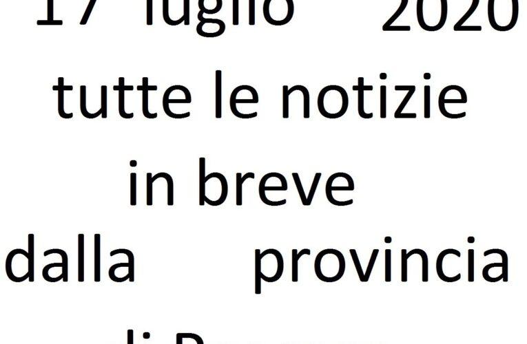 17 luglio 2020 notizie in breve Pescara