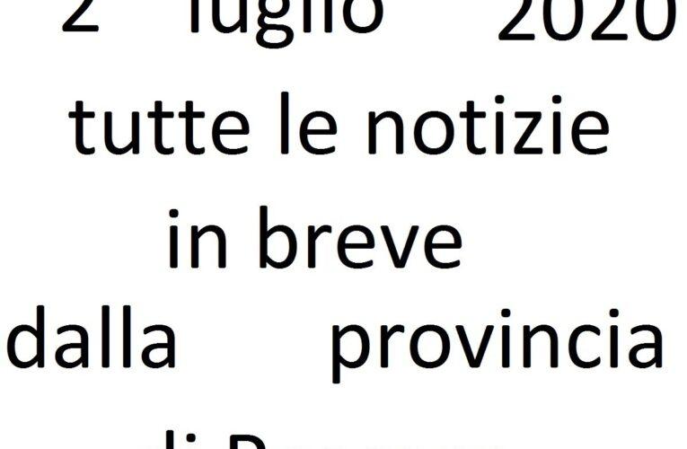 2 luglio 2020 notizie in breve Pescara
