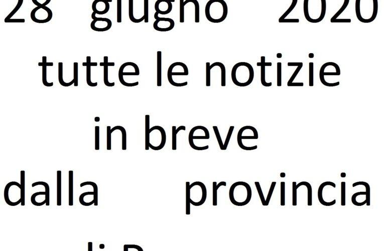 28 giugno 2020 notizie in breve Pescara