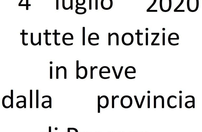 4 luglio 2020 notizie in breve Pescara