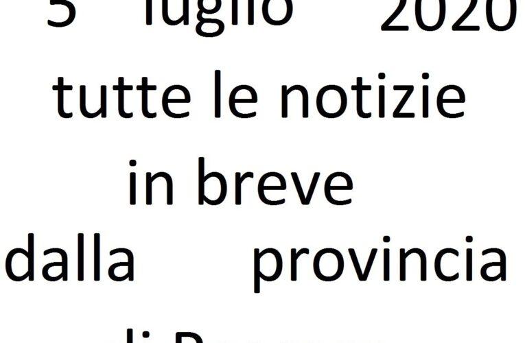 5 luglio 2020 notizie in breve Pescara