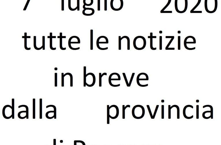 7 luglio 2020 notizie in breve Pescara