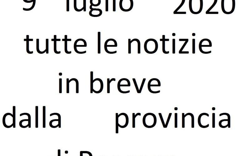 9 luglio 2020 notizie in breve Pescara