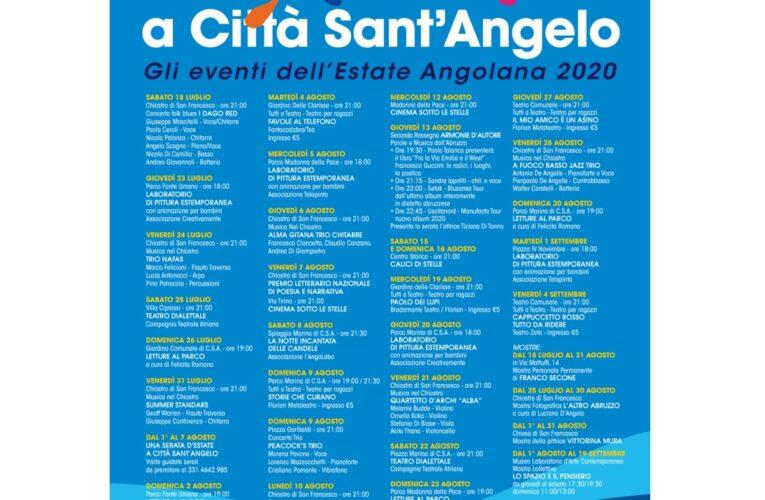 Città Sant'Angelo: eventi estivi 2020