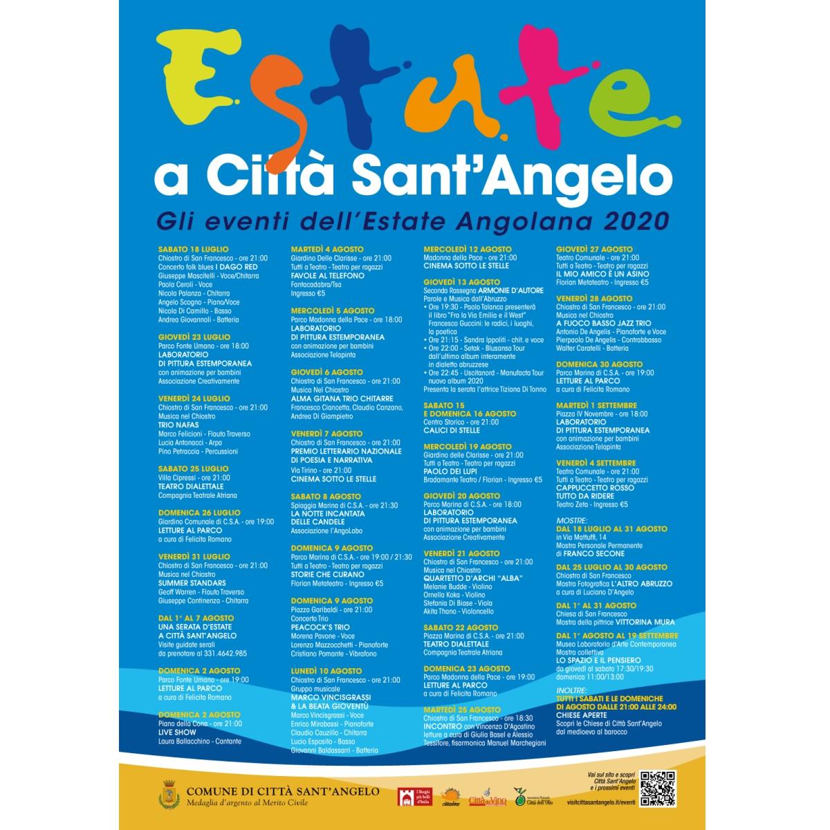Città Sant'Angelo varato il programma degli eventi estivi foto