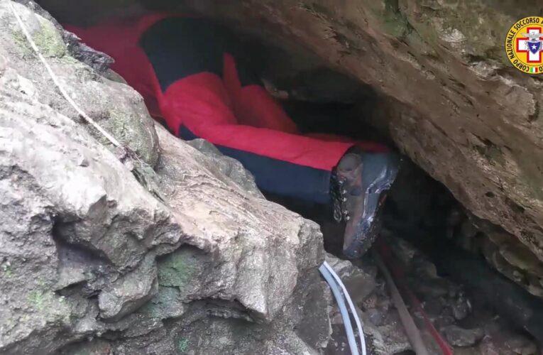 Morto speleologo 42 anni a Roccamorice per annegamento