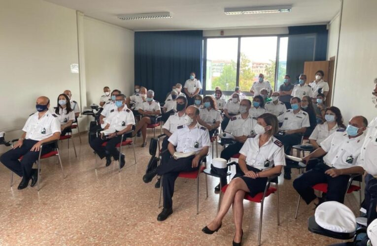 Pescara: cerimonia con i Vigili Urbani