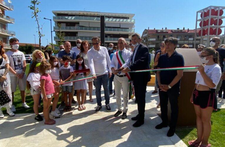 Pescara: inaugurata Piazza Caduti del Mare