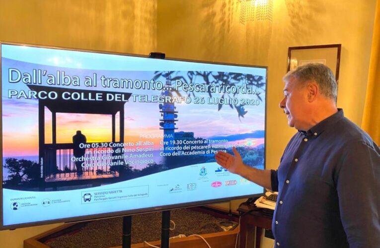 Pescara: l'Amministrazione Comunale ricorda Nino Sospiri