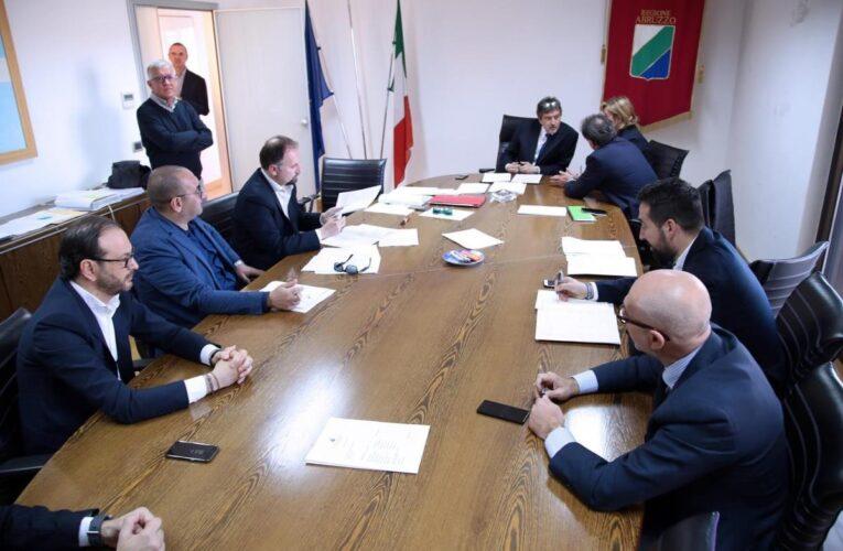 Regione Abruzzo: riunita la Giunta 14 luglio 2020