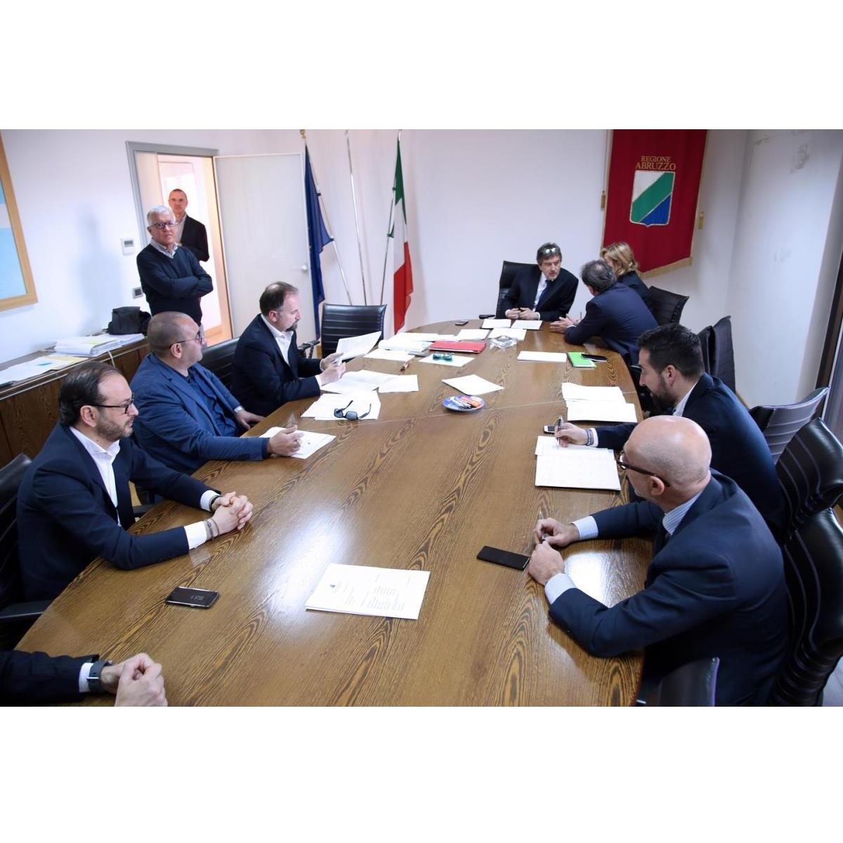 Regione Abruzzo riunita la Giunta 14 luglio 2020 foto