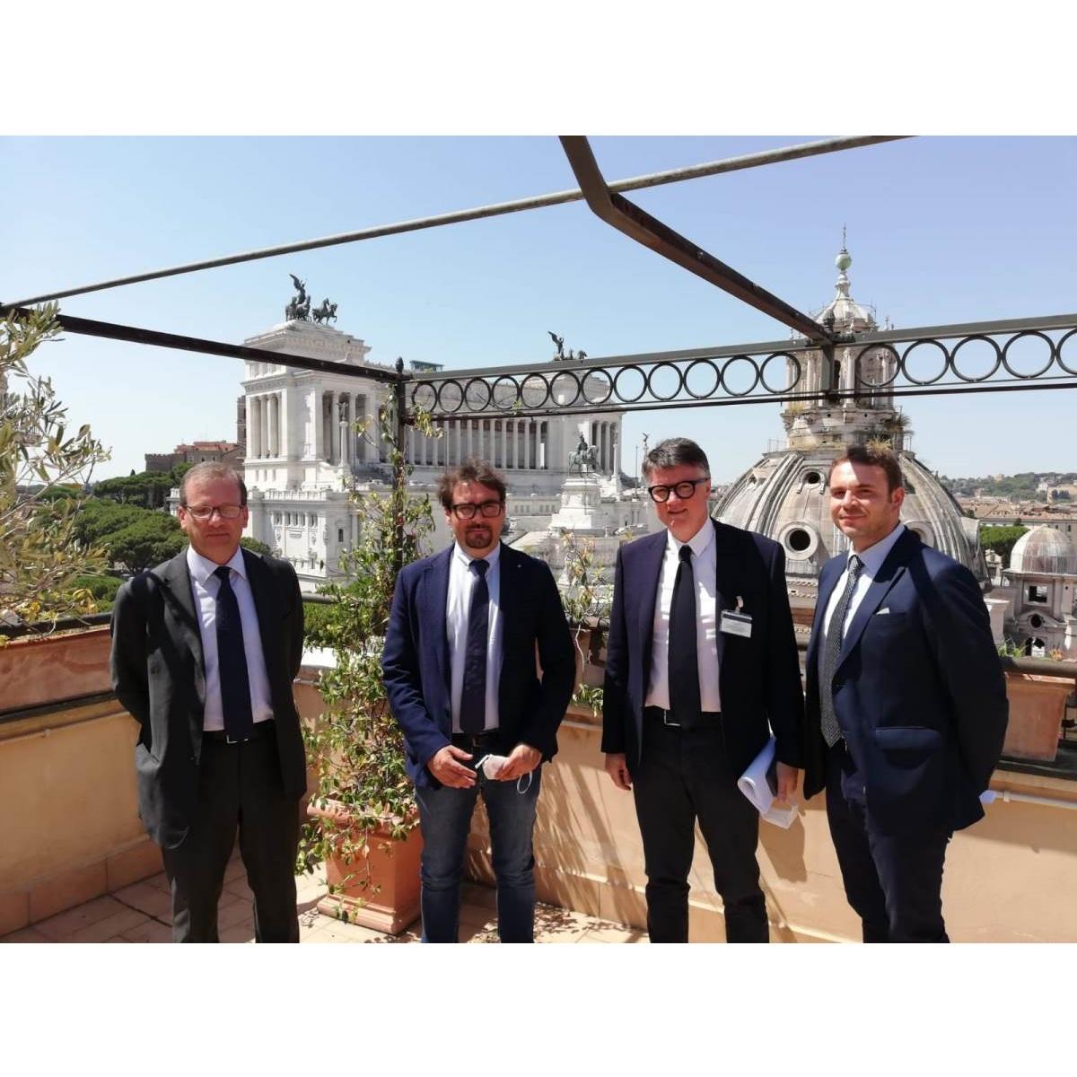 Teramo Incontro a Roma fra Sindaco e vertici ANAS foto