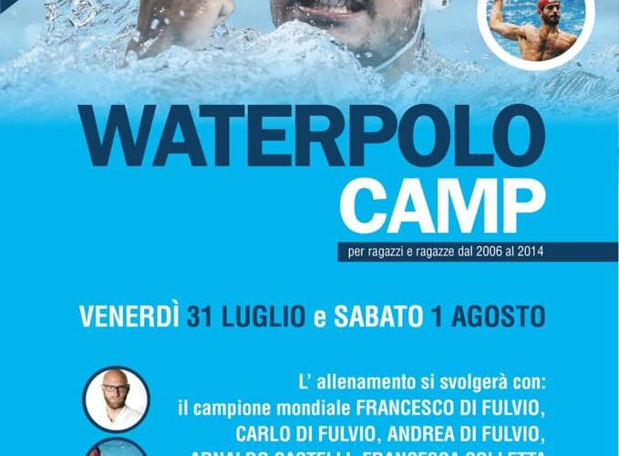 Waterpolo Camp 2020 Naiadi: presenti i fratelli Di Fulvio