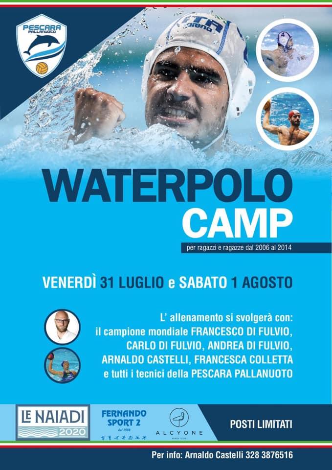 Waterpolo Camp 2020 Naiadi