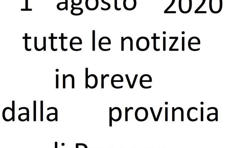 1 agosto 2020 notizie in breve Pescara