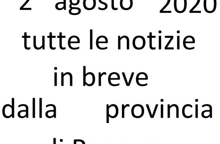 2 agosto 2020 notizie in breve Pescara