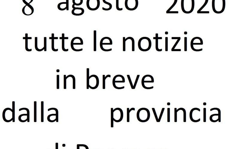 8 agosto 2020 notizie in breve Pescara