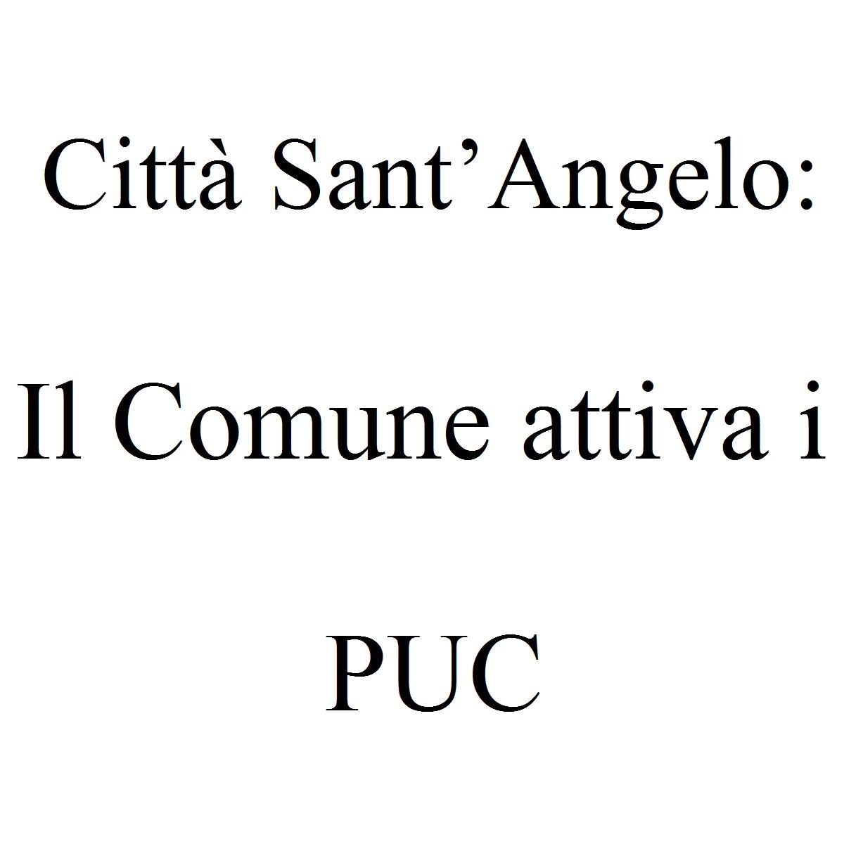 Città Sant'Angelo Il Comune attiva i PUC foto