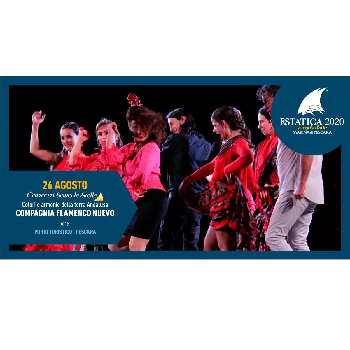 Compagnia Flamenco Nuevo a Pescara il 26 agosto 2020 foto