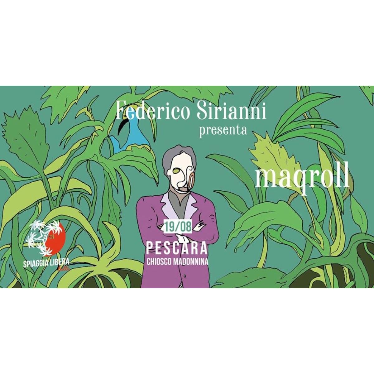 Federico Sirianni a Pescara il 19 agosto 2020 foto
