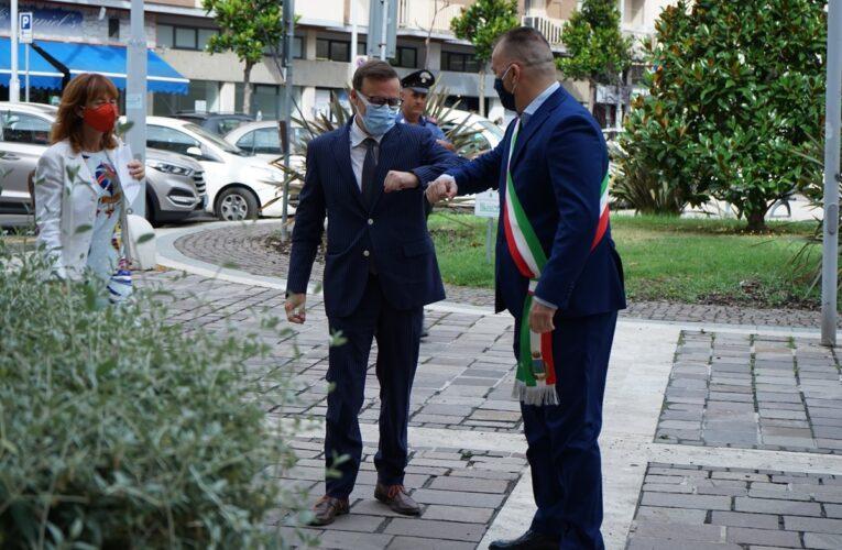 Montesilvano: nuovo Prefetto di Pescara in visita ufficiale