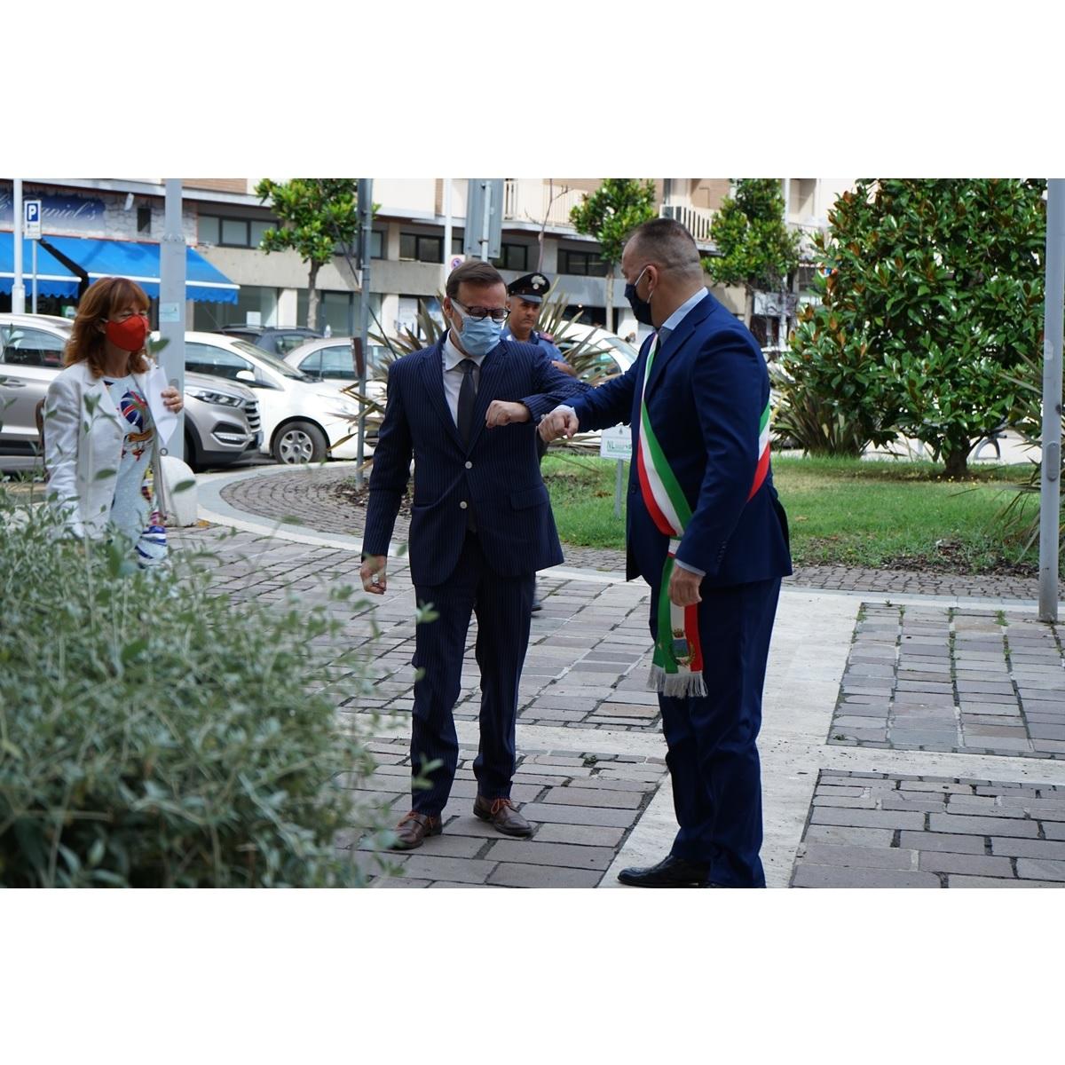 Montesilvano nuovo Prefetto di Pescara in visita ufficiale foto