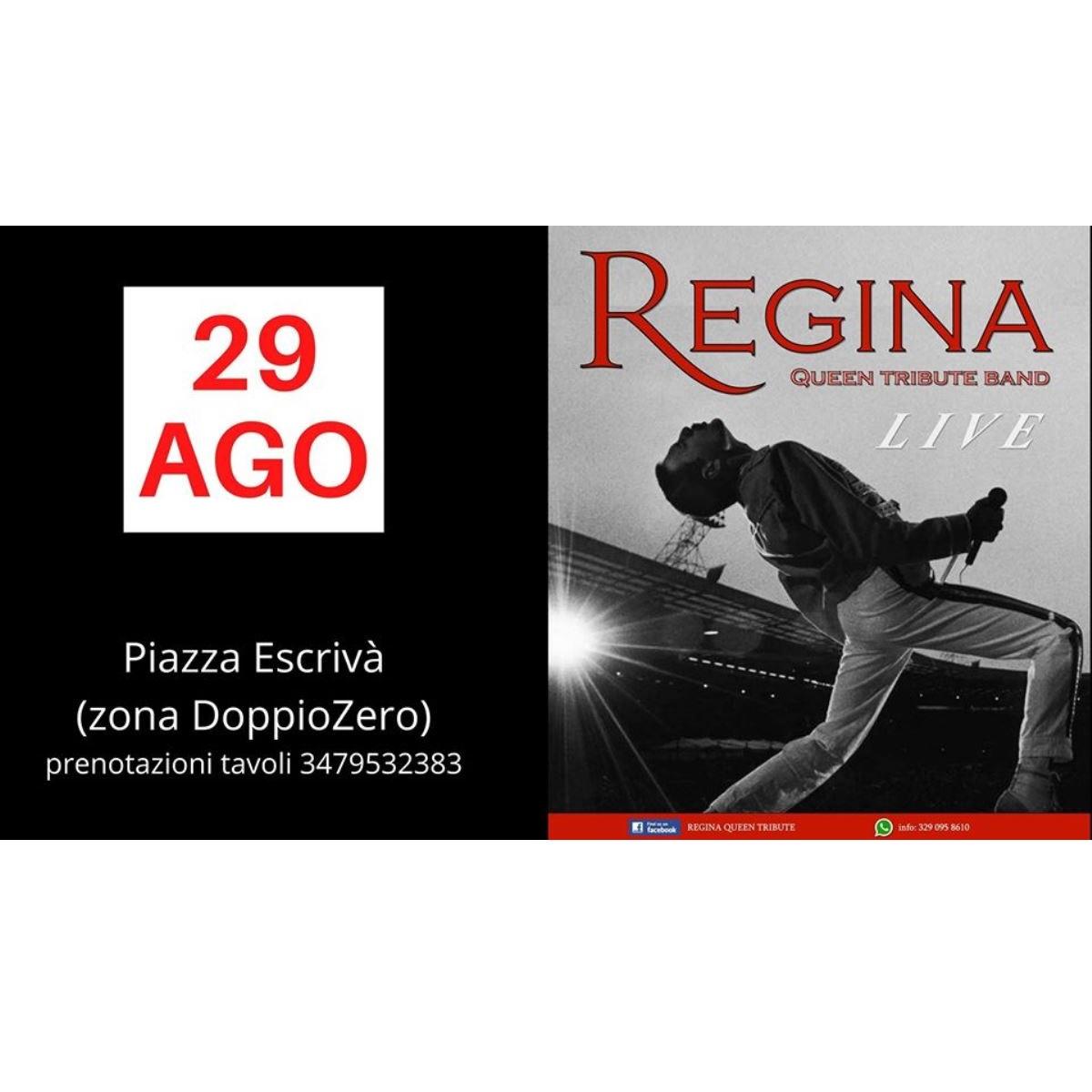 Regina Queen Tribute Band a Chieti il 29 agosto 2020 foto