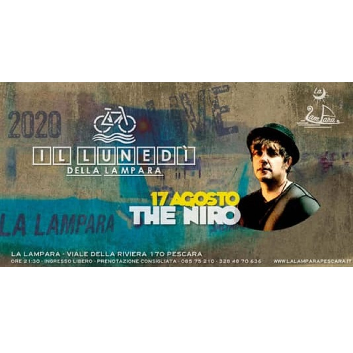 The Niro a Pescara il 17 agosto 2020 foto