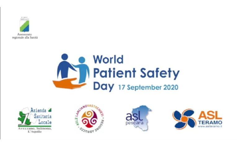 Regione Abruzzo e Giornata mondiale sicurezza pazienti