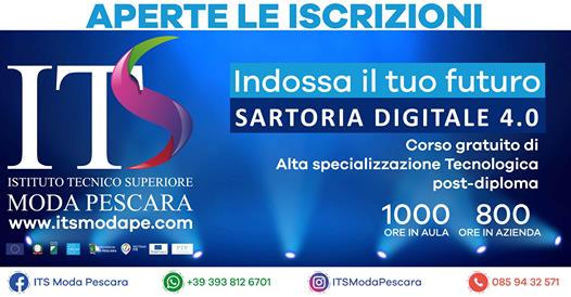 Corso gratuito sartoria digitale 4.0 bando selezione studenti