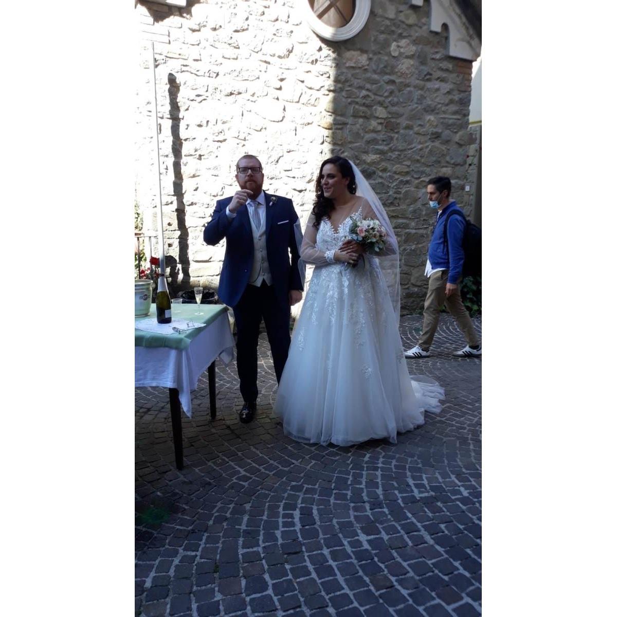 Celebrato dopo tanto tempo un matrimonio a Pietracamela foto