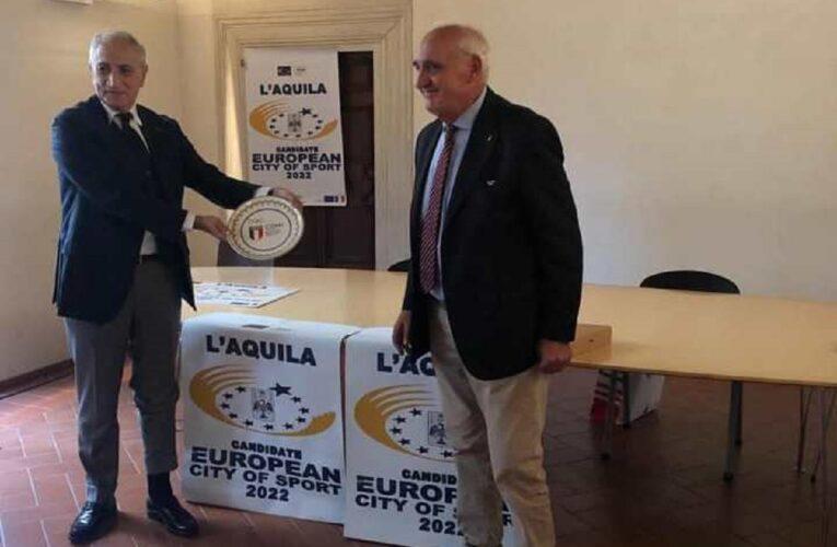 L'Aquila nominata città europea dello sport 2022