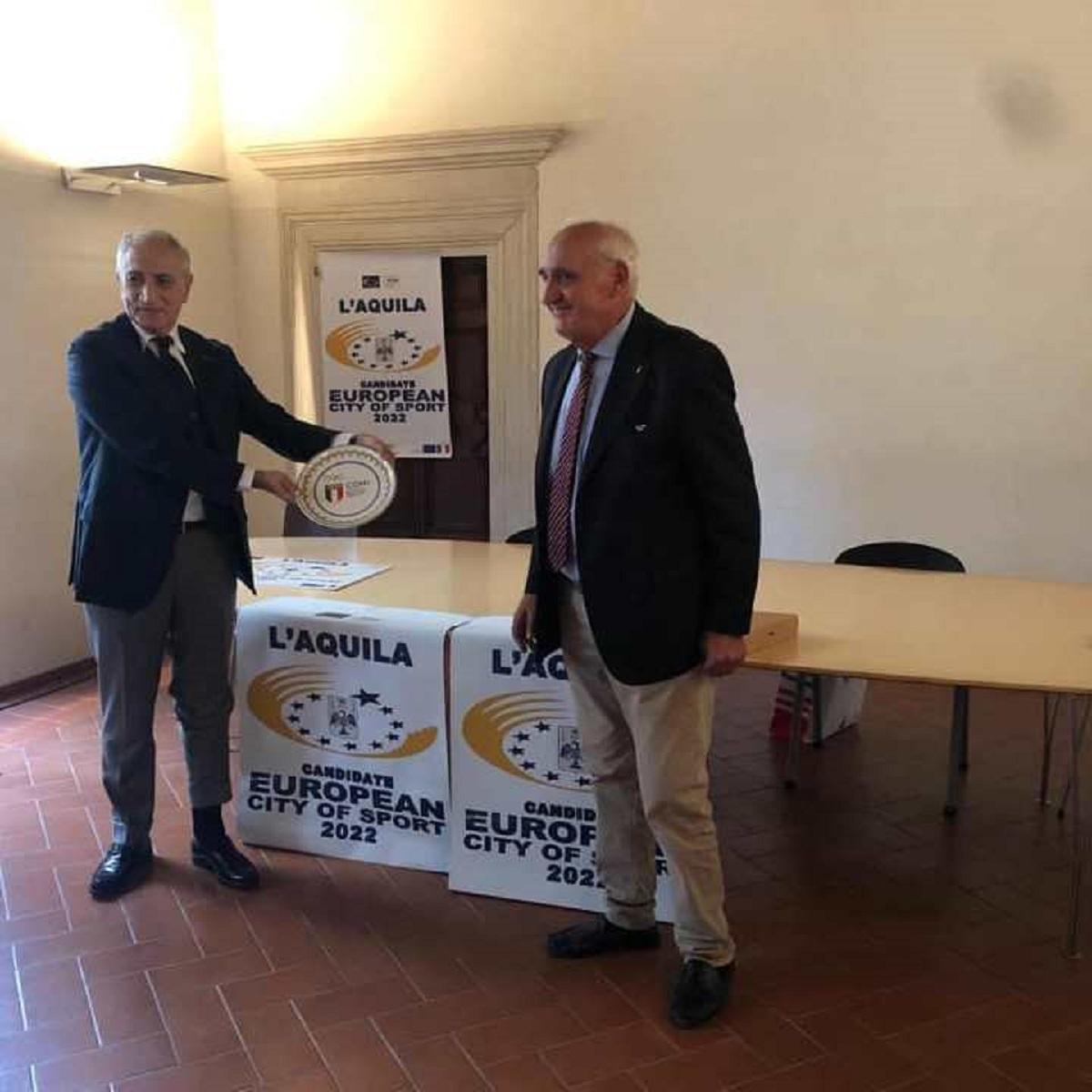L'Aquila nominata città europea dello sport 2022 foto