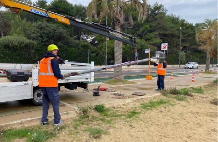 Montesilvano 240 nuovi pali di pubblica illuminazione foto