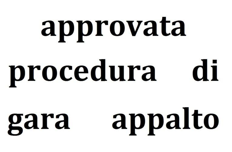 Paglieta: approvata procedura di gara appalto lavori