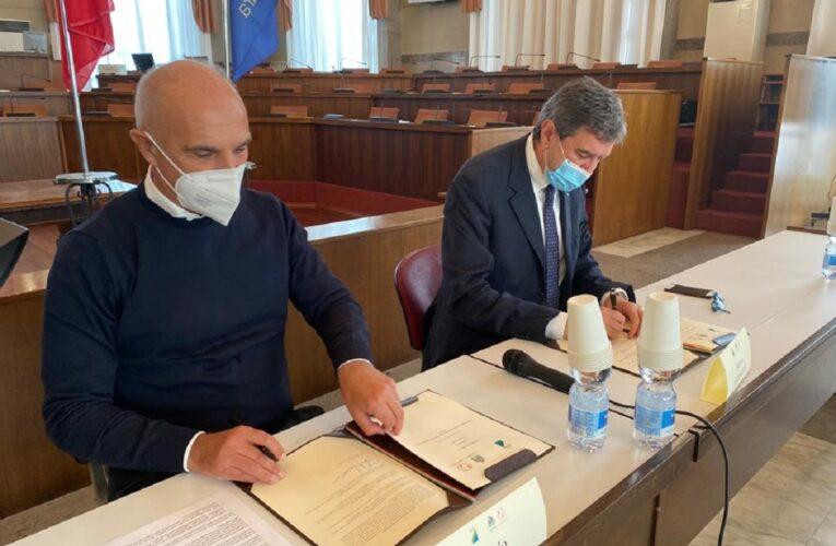 Pescara: Marsilio e Masci firmano accordo aree di risulta