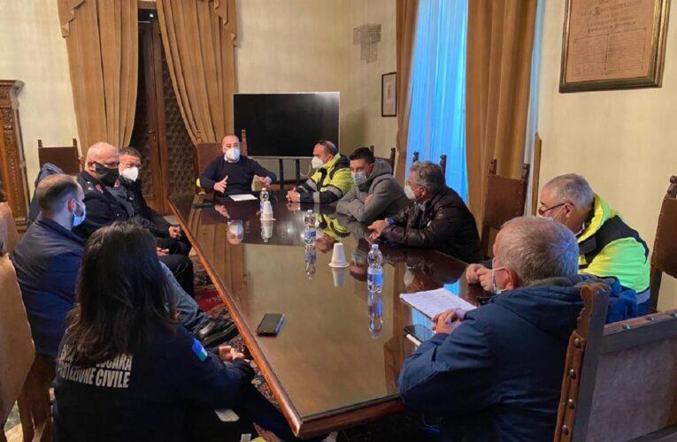 Pescara: riunione Coordinamento emergenze meteo