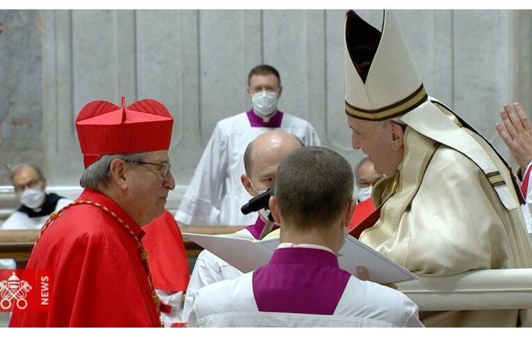 Pizzoli gioisce: nominato Cardinale un proprio Figlio