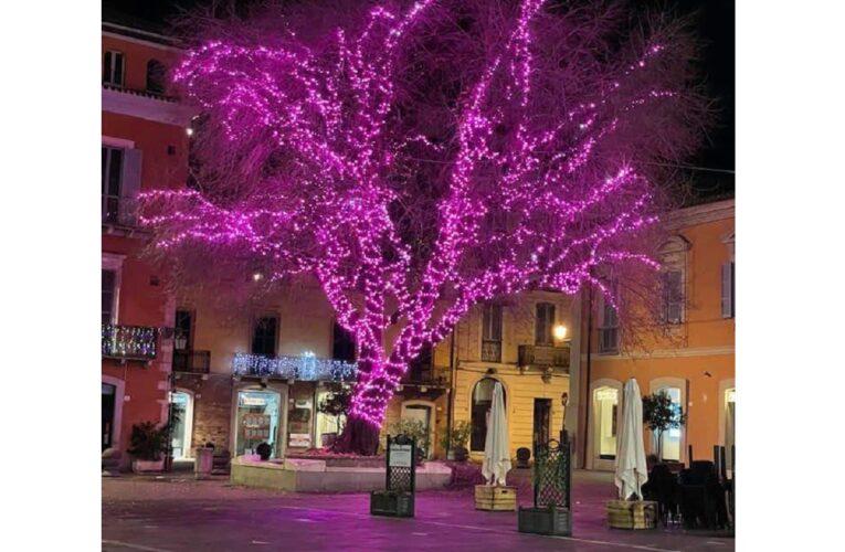 In Piazza Martiri a Teramo si accende la luce di Natale