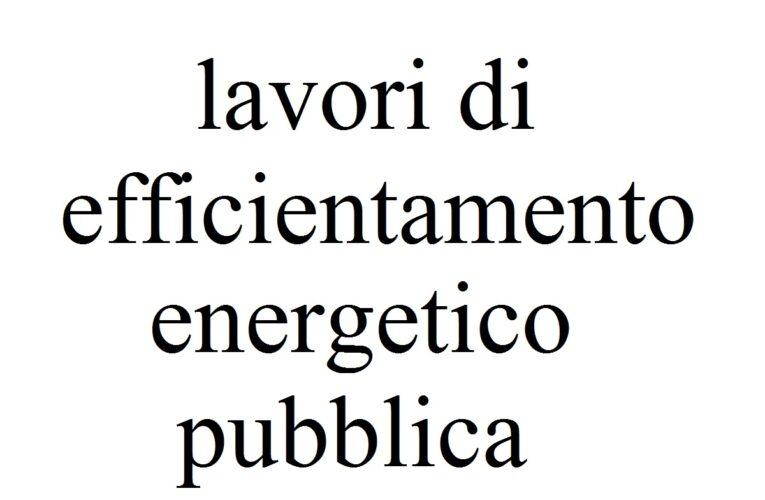 Montereale: lavori di efficientamento energetico