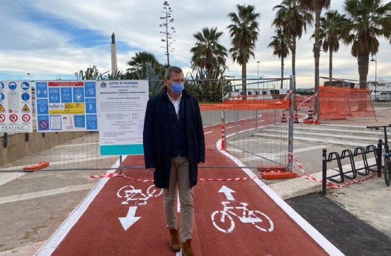 Pescara: realizzati raccordo e pista ciclabile