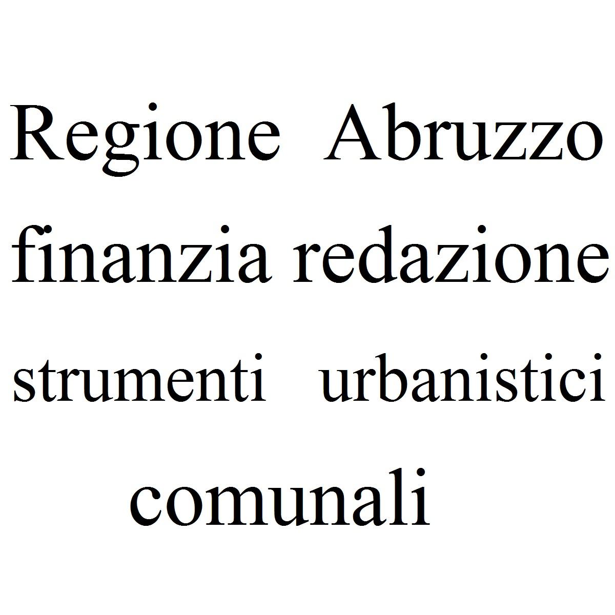 Regione finanzia redazione strumenti urbanistici comunali foto