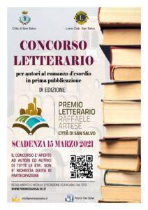 premio letterario raffaele artese citta di san salvo ix edizione