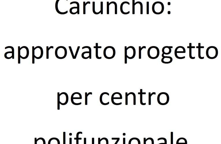 Carunchio: approvato progetto per centro polifunzionale