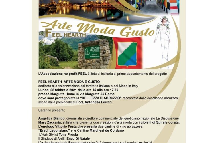 Abruzzo protagonista a Via Margutta.