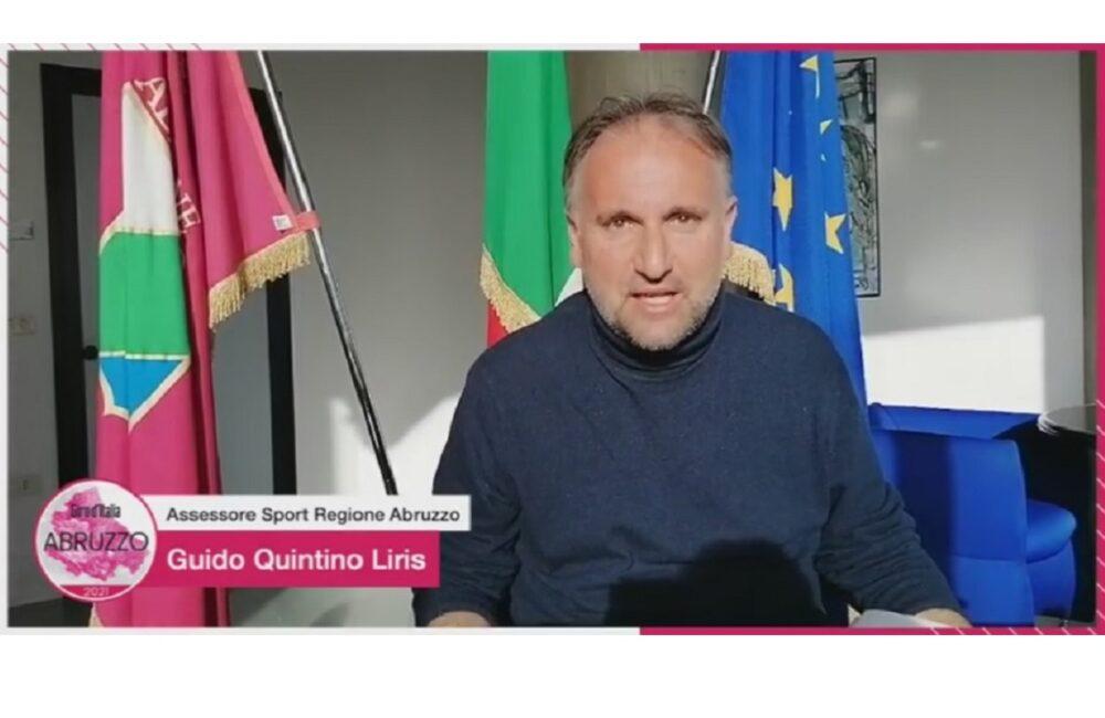 Giro d'Italia tre tappe in Abruzzo nel 2021 foto