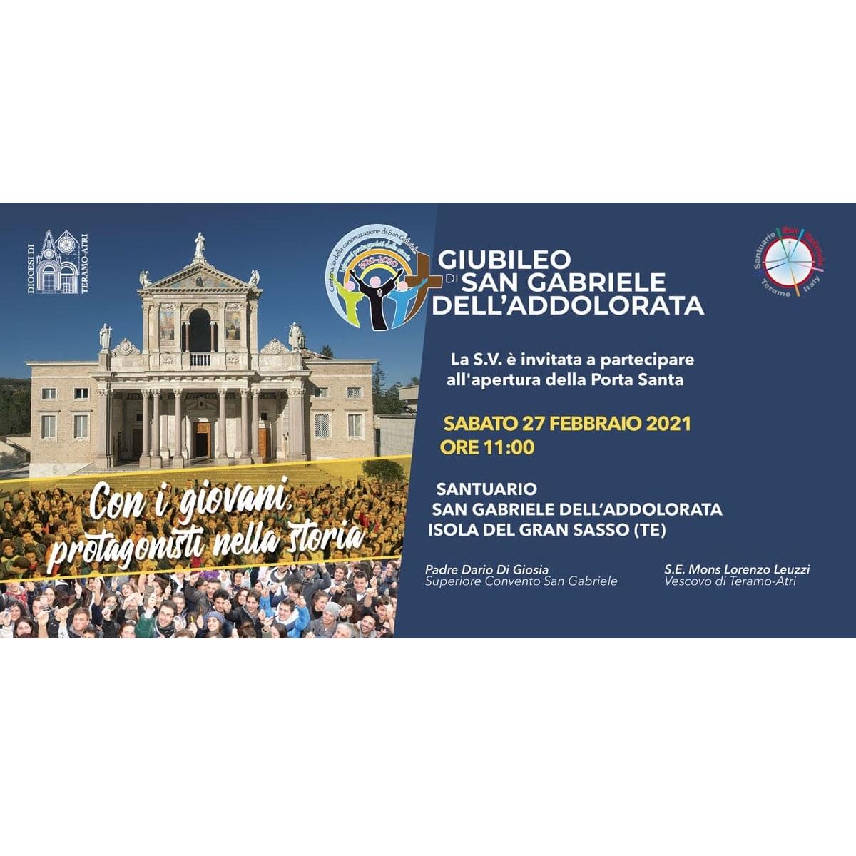 Isola del Gran Sasso proclama anno giubilare San Gabriele foto