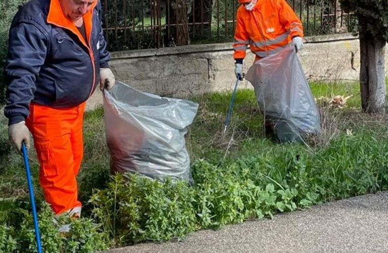 San Salvo: pulizia rifiuti nella zona industriale