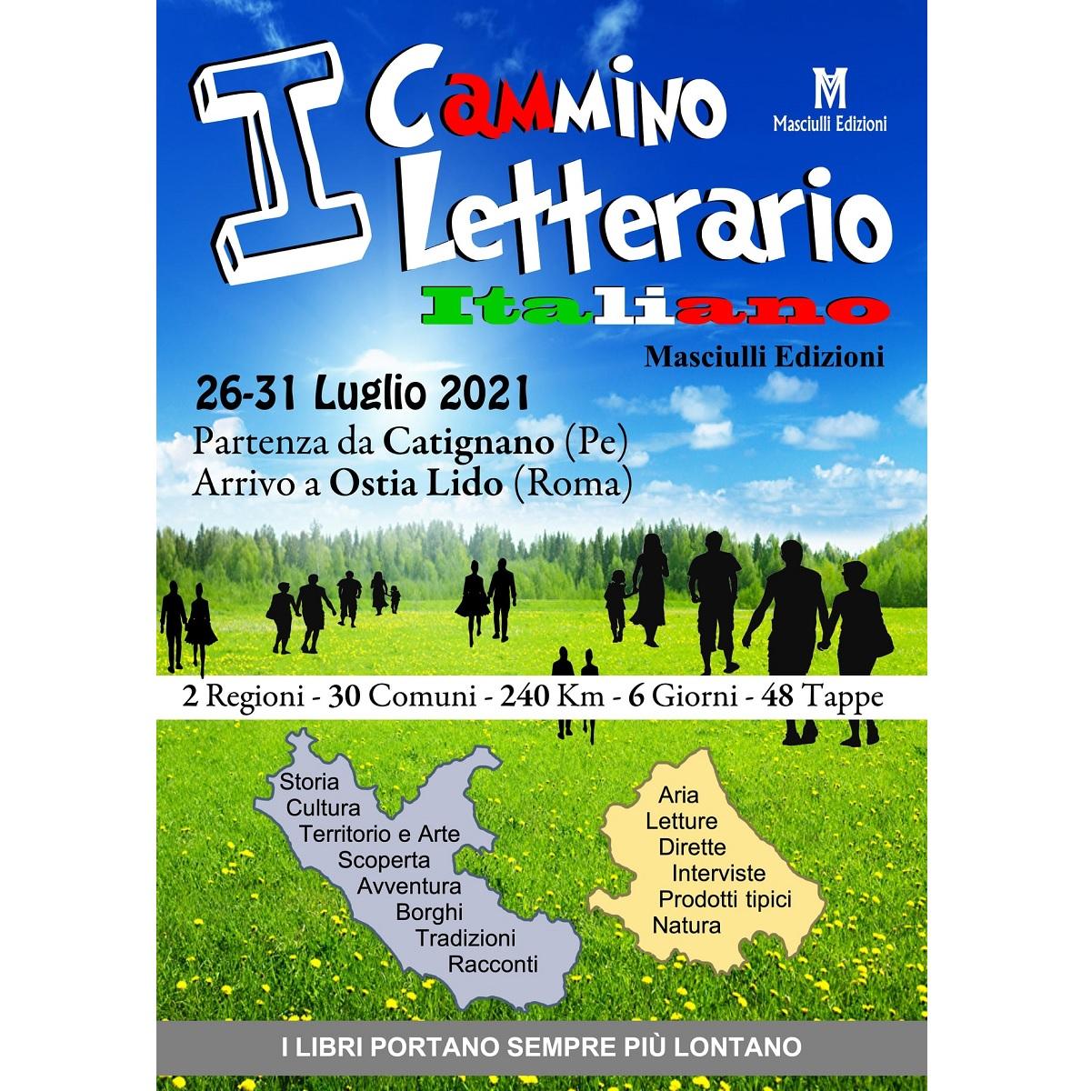 Da Catignano verso Ostia il Cammino Letterario Italiano foto