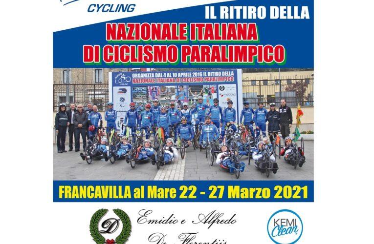 Francavilla al Mare ospita nazionale italiana di paraciclismo